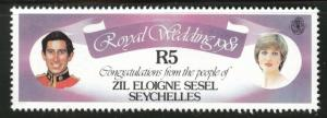 Seychelles Zil Eloigne Sesel Scott 26 MNH**