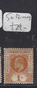 CAYMAN ISLANDS (P1111B)   KE    1/-  SG 12    MOG