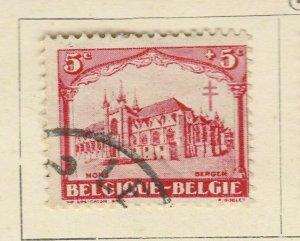A6P13F54 Belgium Semi-Postal Stamp 1928 5c+5c used