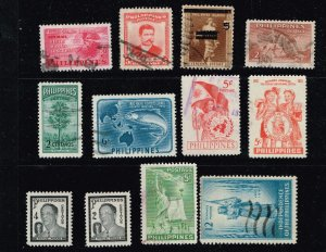 Philippines Stamp USED AND MINT STAMPS COLLECTION LOT