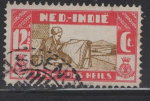 NETHERLANDS INDIES  B14  USED WEAVING ISSUE 1932