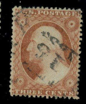 25 Used F-VF 1858 Cancel Cat$185