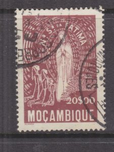 MOZAMBIQUE, 1949 Our Lady of Fatima 20e. Brown, used.