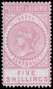 South Australia Scott 82 (1886) Mint LH VF, CV $110.00 M