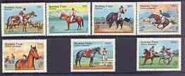 Burkina Faso 1985 Argentina \'85 Stamp Exhibition (Horses...
