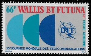 Wallis & Futuna #C82 MNH Stamp - Telecommunications Day