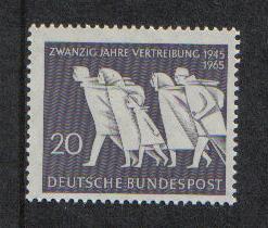 Germany 1965 MNH East German refugees complete