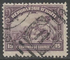 HAITI 313 VFU E211-4