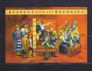 UN Geneva 366 Set MNH Respect For Refugees
