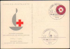 Germany Post-1950, Red Cross