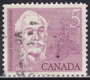 Canada 410 Sir Casimir Gzowski 1963