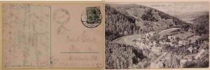 GERMAN  BURG REGENSTEIN HULSSTEILE 1904