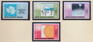 British Antarctic Territory (B.A.T.) Stamps Scott #82 To 85, Mint Never Hinge...