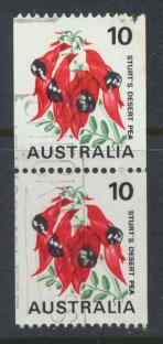 Australia SG 468d coil stamp pair - Used
