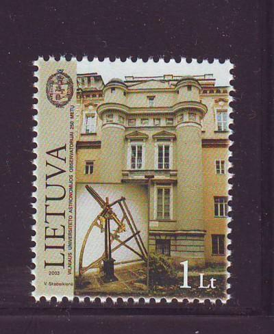 Lithuania Sc745 2003 Astronomical Obervatory stamp NH