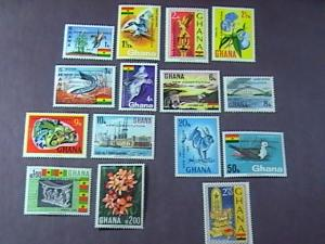 GHANA # 356-370-MINT/NEVER HINGED---COMPLETE SET-----NEW CONSTITUTION---1969