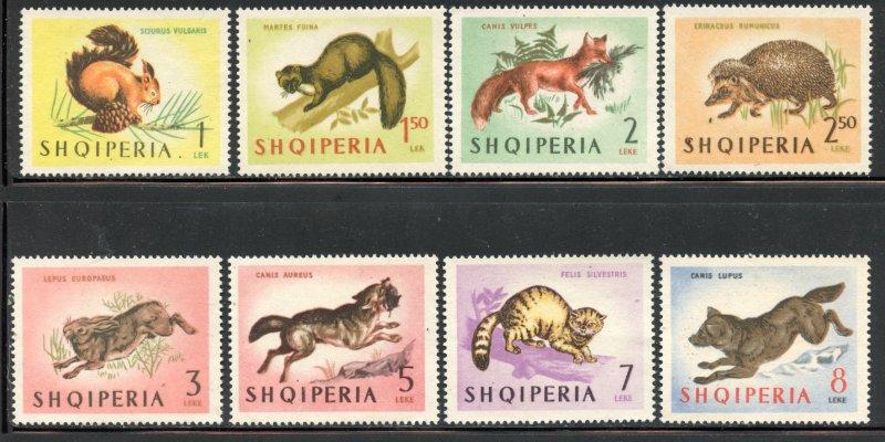 Albania #722-29, Mint No Gum CV $ 14.90