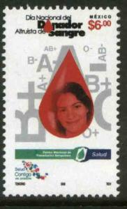 MEXICO 2290, National Blood Donors Day. MINT, NH. VF.
