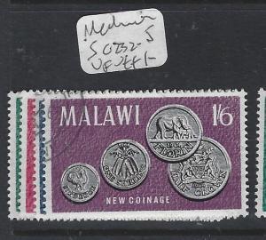 MALAWI  (PP1309B)  COINS  SG 232-5   VFU