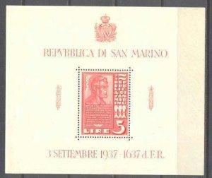 San Marino 187 MNH s/s A.Lincoln SCV15