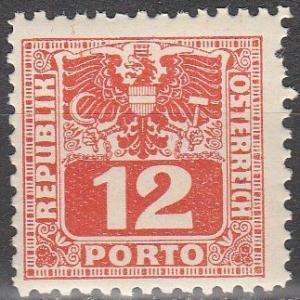 Austria #J180  MNH (S8944)