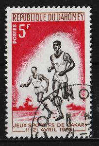 Dahomey 1963 Friendship Games, Dakar 5F (1/6) USED