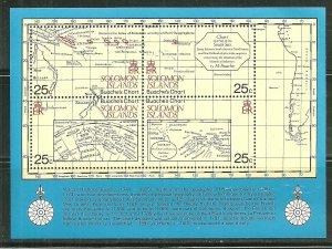 Solomon Island MNH S/S 443 Charts Of Mapmaker Jean Nicholas Buache
