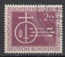 Germany - 1955 Millenium of the Battle of the Lechfeld(1627)