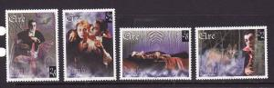 Ireland-Sc#1086-9-unused NH set-Bram Stoker's Dracula-1997-