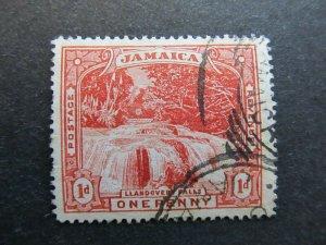 A4P21F28 Jamaica 1900-01 Wmk Crown CC 1d used