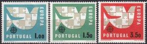 Portugal #916-8 MNH CV $5.75  (Z8014)