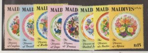 Maldive Islands Scott #1688-1695 Stamps - Mint NH Set