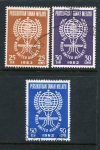 Malaya #102-4 Used