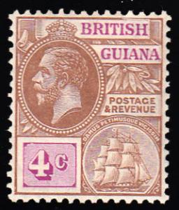 British Guiana Scott 180 Unused hinged.