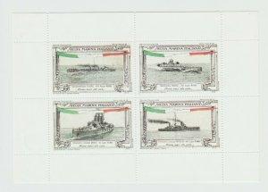 Italy Cinderella stamp 9-15- Hidden gum? Modern Reprint? ships