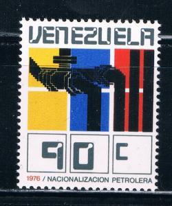 Venezuela 1161 MNH Oil industry Nationalism (V0271)+