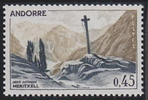 Andorra - French Issues 165A MNH (1970)