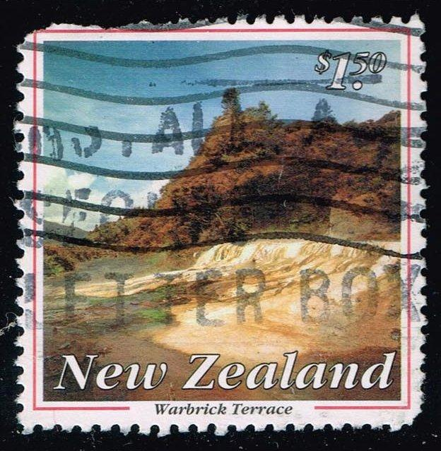New Zealand #1159 Warbrick Terrace; Used (1.50)
