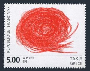 France 2379,MNH.Michel 2981. European Art,1993.Abstract 1994,by Grafik von Takis