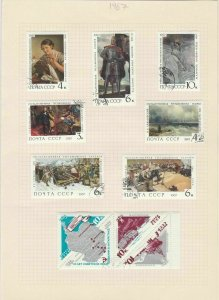 russia 1961-67 stamps page ref 18382