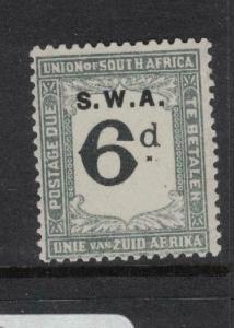 South West Africa SG D41 MOG (3dwd)