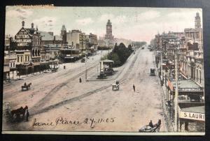 1905 Ballarat Australia Picture Postcard Cover To Chicago Usa Via San Francisco