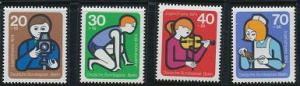 Berlin B106-B109 MNH (1974)