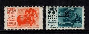 Mexico  E14 - E15  MNH  cat $ 2.00 222