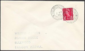 GB SCOTLAND 1970 cover SKALLARY CASTLEBAY / ISLE OF BARRA..................54325