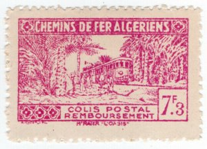(I.B) France Colonial Railway : Algeria Chemins de Fer 7.3F