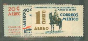 Mexico C82-C84 Mint VF H