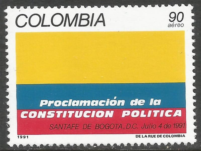 COLOMBIA C847 MNH 116G