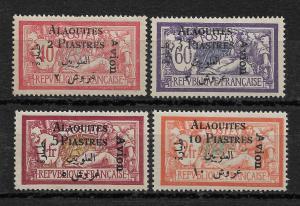 Alaouites Syria 1925 French Mandate Air Mail,Scott # C1-C4,VF MLH*OG (RN-8)