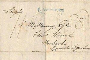 GB Cover KENT *Bayham* Receiver *No.2* Letter LAMBERHURST PENNY POST 1826 MS3243